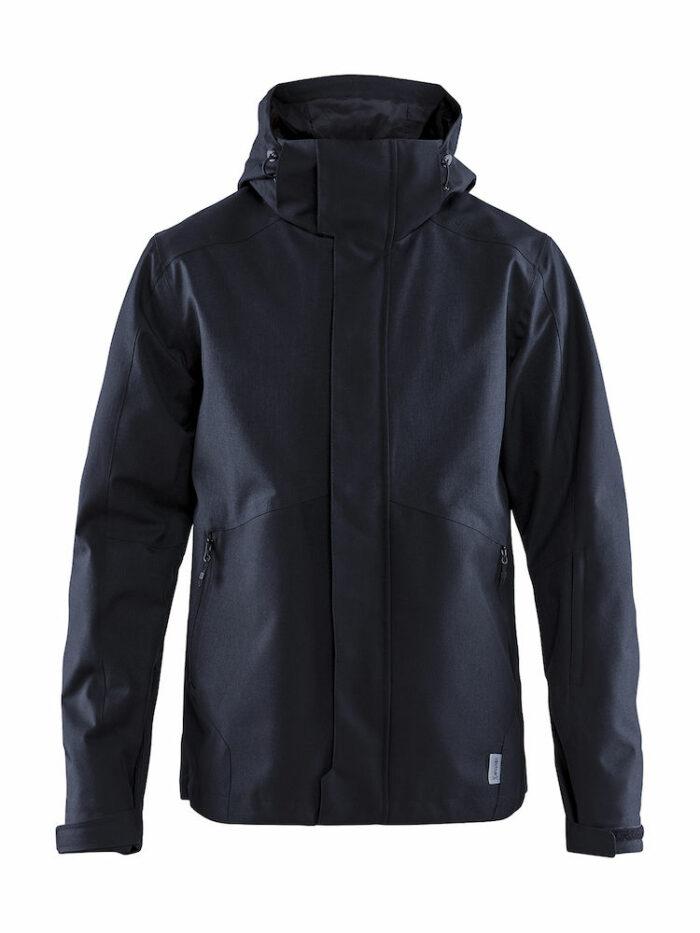 1906274_947200_Mountain Jacket_Homme, Softshell moderne avec col haut - Capuche amovible - Le modèle parfait pour casser les lignes entre l'exigence de la montagne et le design urbain - vous vous sentez comme à la maison - Coupe-vent et imperméabilité qui assure une excellente protection et confort - 2 poches zippées - 1 poche poitrine intérieure - poche ski pass dans la manche - Manches préformées - Passe-pouce WP : 8000 MWP : 8000, Craft, 109 t-shirts