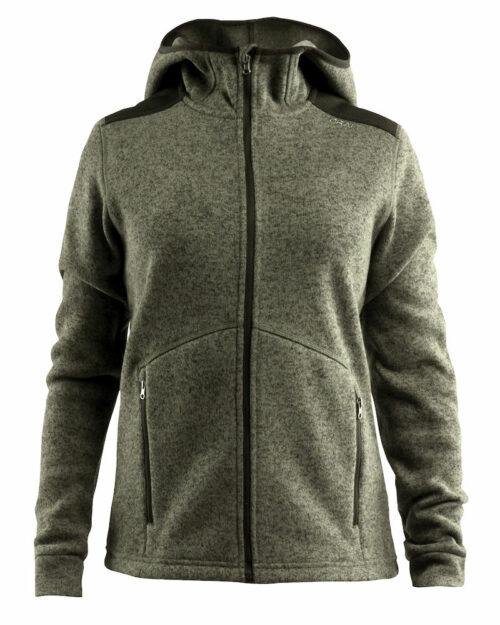1906283_381200_Noble_Hood_Jacket_Femme, Veste Polaire en molleton épais • Coutures plates • Poches zippées • Empiècements renforcés : Epaules + coudes + intérieur du col, Craft, 109 t-Shirts