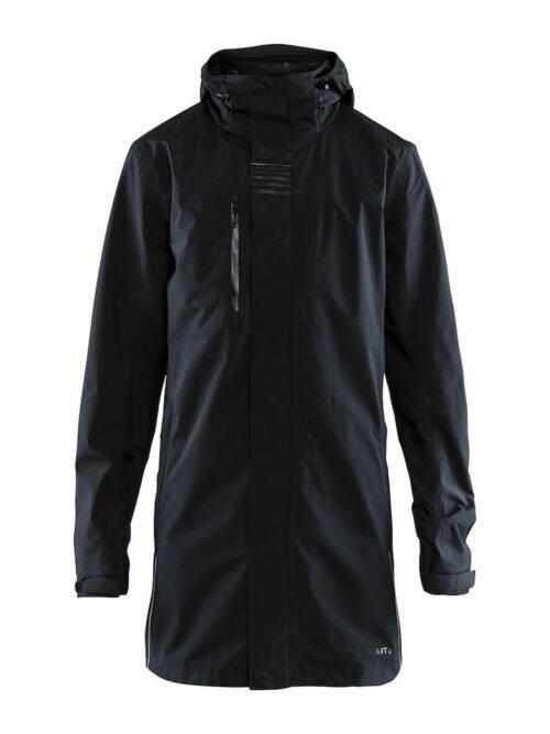 1906316_999000_Urban Rain Coat_Homme, Imperméable long - Coutures thermo-soudées - Zips étanches - Capuche ajustable et amovible - Détails brillants pour design urbain - Poignets ajustables - 4 poches WP : 8000 MWP : 8000, Craft, 109 t-shirts