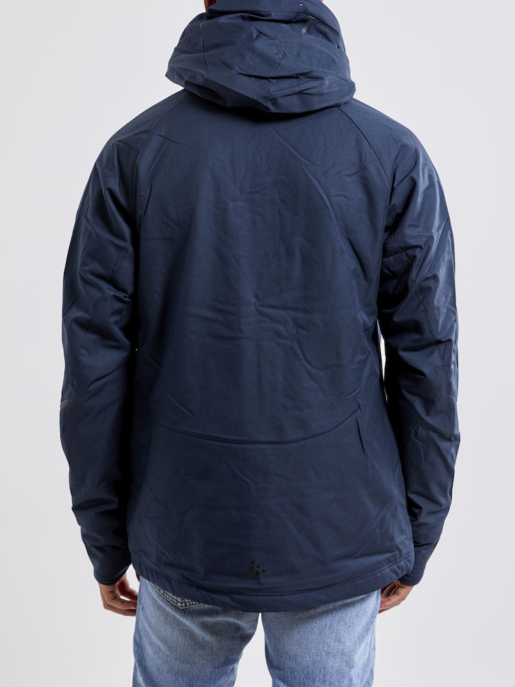 1906322_395200_Mountain padded jacket_Homme, Softshell moderne doublée - Capuche amovible - Le modèle parfait pour casser les lignes entre l'exigence de la montagne et le design urbain - vous vous sentez comme à la maison - Coupe-vent et imperméabilité qui assure une excellente protection et confort - 2 poches zippées - 1 poche poitrine intérieure - poche ski pass dans la manche - Manches préformées - Passe-pouce WP : 8000 MWP : 8000, Craft, 109 t-shirts