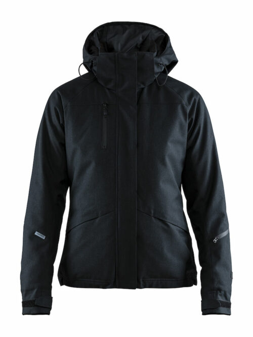 1906323_395200_Mountain padded jacket_Femme, Softshell moderne doublée - Capuche amovible - Le modèle parfait pour casser les lignes entre l'exigence de la montagne et le design urbain - vous vous sentez comme à la maison - Coupe-vent et imperméabilité qui assure une excellente protection et confort - 2 poches zippées - 1 poche poitrine intérieure - poche ski pass dans la manche - Manches préformées - Passe-pouce WP : 8000 MWP : 8000, Craft, 109 t-shirts