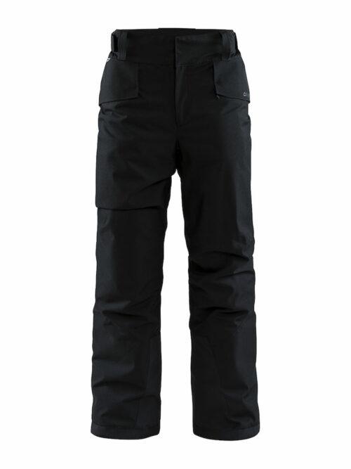1906324_999000_Mountain Pants_Homme, Pantalon en softshell + doublure - Coupe-vent et imperméabilité qui assure une excellente protection et confort - Taille réglage Velcro - Passants pour ceinture - 2 poches - Double finition aux mollet stop - neige WP : 8000 MWP : 8000, Craft, 109 t-shirts