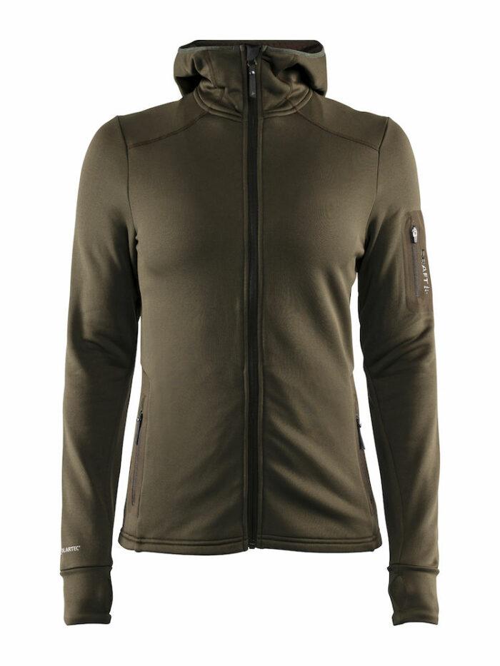 1906646_391677_Trict Polartec Hood_Sweat Midlayer à capuche, Doux et confortable, Poche zippée, Femme, Craft, 109 t-shirts