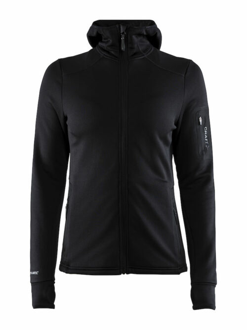 1906646_391677_Trict Polartec Hood_Sweat Midlayer à capuche, Doux et confortable, Poche zippée, Femme, Craft, 109 t-shirts
