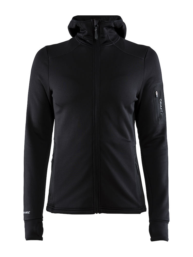 1906646_999000_Trict Polartec Hood_Sweat Midlayer à capuche, Doux et confortable, Poche zippée, homme, Craft, 109 t-shirts