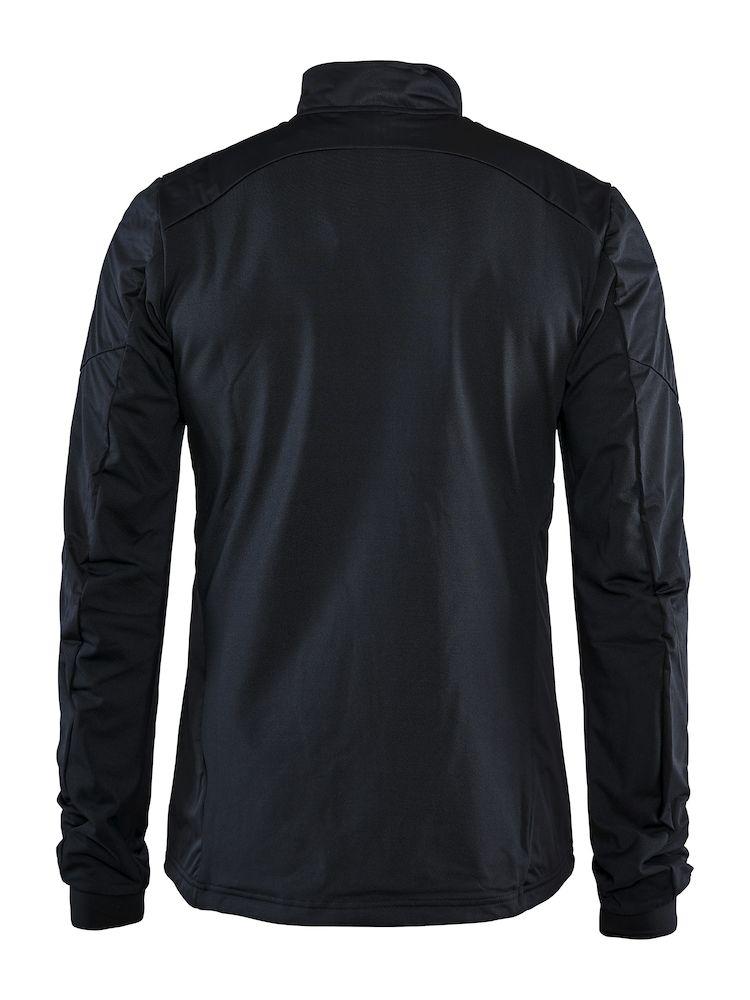 1906767_336000_Craft_Club_Jacket_Homme, Veste de sport fonctionnelle - Coupe-vent - Elastique au dos - polyester laminé fin et tricoté pour bien protéger contre le vent et offrir une excellente ventilation - Full Zip - Idéale pour le ski de fond, Craft, 109 t-shirts