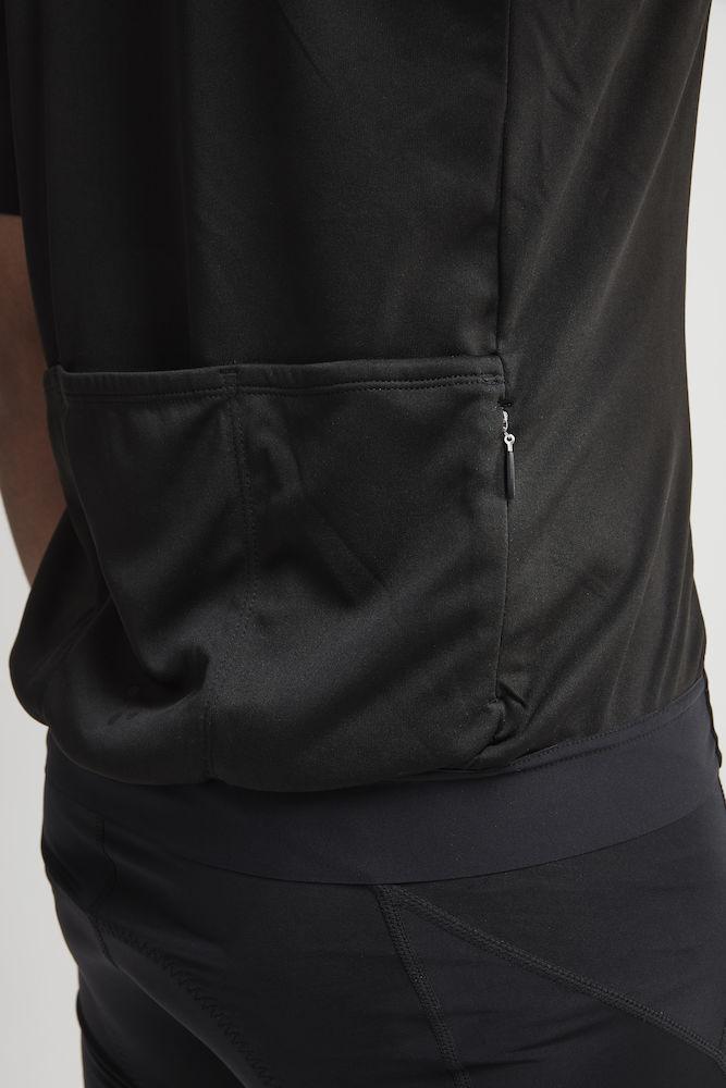 1907156_396000_Essence_Jersey_Homme, Maillot de cyclisme doux, extensible et ergonomique - fermeture full zip • Fabrication durable - utilise moins d'eau, moins de produits chimiques et d'énergie • Capacité d'évacuation de la transpiration efficace • 4 poches au dos dont 1 zippée • Logos rétro-réfléchissants • Silicone relief à la ceinture pour une meilleure tenue • UV 25+, Craft, 109 t-shirts