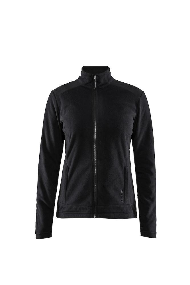 1907220_395000_Casual Fleece_Veste coupe moderne, Polyester doux et brossé, Full Zip, Femme, 109 t-shirts, Craft