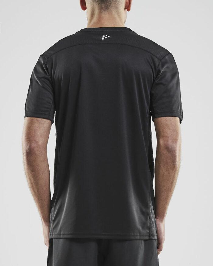 1907361_381200_RUSH SS Tee_Homme, T-shirt manches courtes léger • Tissu extensible et fonctionnel avec empièments en mesh sous les bras pour évacuer l'humidité • Grande liberté de mouvement • Idéal pour les clubs, sponsors ou entreprises, Craft, 109 t-shirts