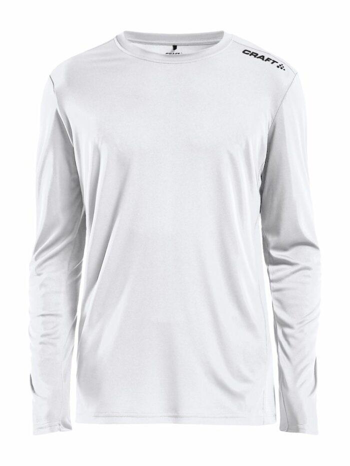 1907364_346000_RUSH LS TEE_Homme, T-shirt manches longues léger • Tissu extensible et fonctionnel avec empièments en mesh sous les bras pour évacuer l'humidité • Grande liberté de mouvement • Idéal pour les clubs, sponsors ou entreprises, Craft, 109 t-shirts