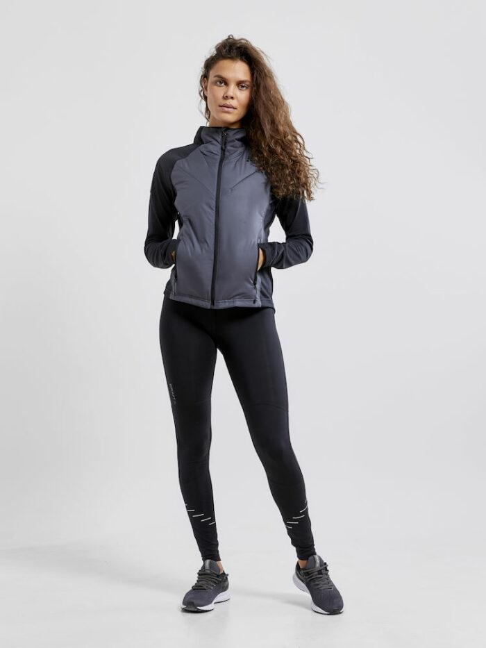 1908014_999995_Polar lt pd midlayer_Femme, Midlayer chaud avec corps légèrement rembourré • Capuche ajustée • Poches zippées, Craft, 109 t-shirts