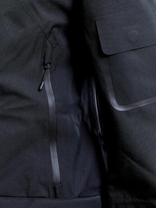 1908053_669000_Polar Shell Jacket_Homme, Softshell 3 couches imperméable et respirante • Coutures thermo-collées • Détails découpés au laser • Fermetures Zip étanches • Ventilation sous les bras • Poche sur la manche • Capuche réglable WP : 7000 MWP : 7000, Craft, 109 t-shirts