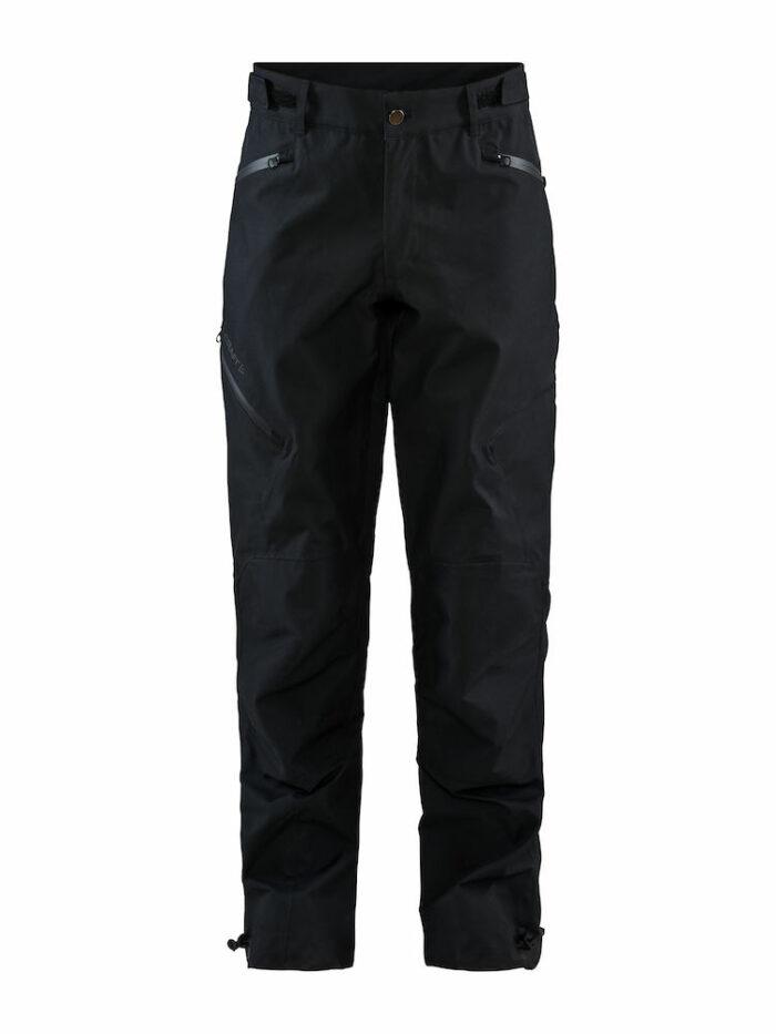 1908626_999000_Block Shell Pants_Femme - Pantalon Softshell 3 couches entièrement doublé • Coututres thermo-soudées • Poches avec Zips étanches • Ajustable à la taille avec un Velcro • Empiècements renforcés aux genoux et aux jambes WP : 7000 MWP : 7000- Craft - 109 t-shirts