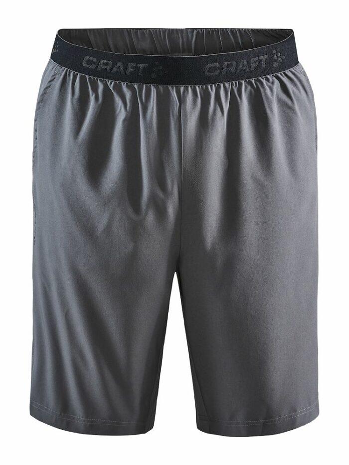 1908735_396000_Core Essence Relaxed Shorts_Homme, Short de sport stretch • Ceinture élastique avec cordon de serrage • Poches latérales + petit poche en mesh pour clés • Entrejambe de 22cm en taille M • Logo Craft, 109 t-shirts, Craft