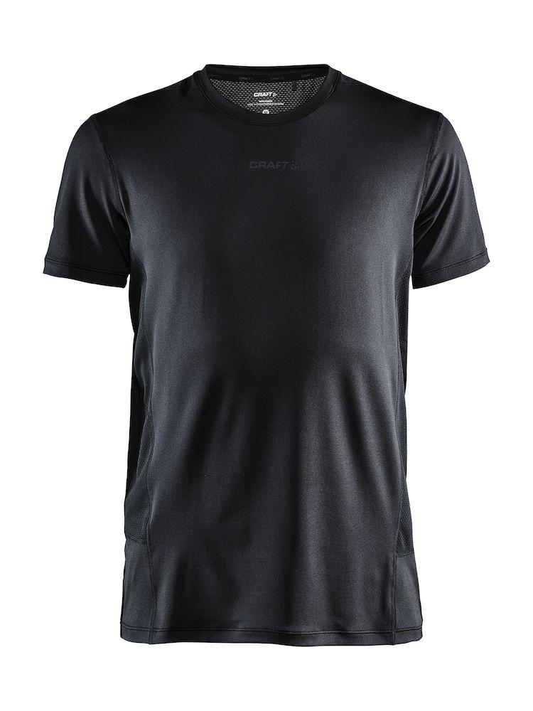 1908753_360000_ADV Essence SS Tee_Homme, T-shirt manches courtes doux et confortable • Excellente évacuation de la transpiration • Jersey doux et détails en mesh • Poches zippées cachées • Coupe classique • Logos craft, Craft, 109 t-shirts