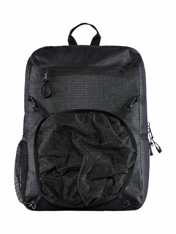 1910060_999000_Transit Backpack_Sac polyvalent - polyester renforcé - enduction PU pou rl'imperméabilité - compartimet ballon en mesh - poche bouteille - poches extérieures - compartiment ordinateur, Craft, 109 t-shirts
