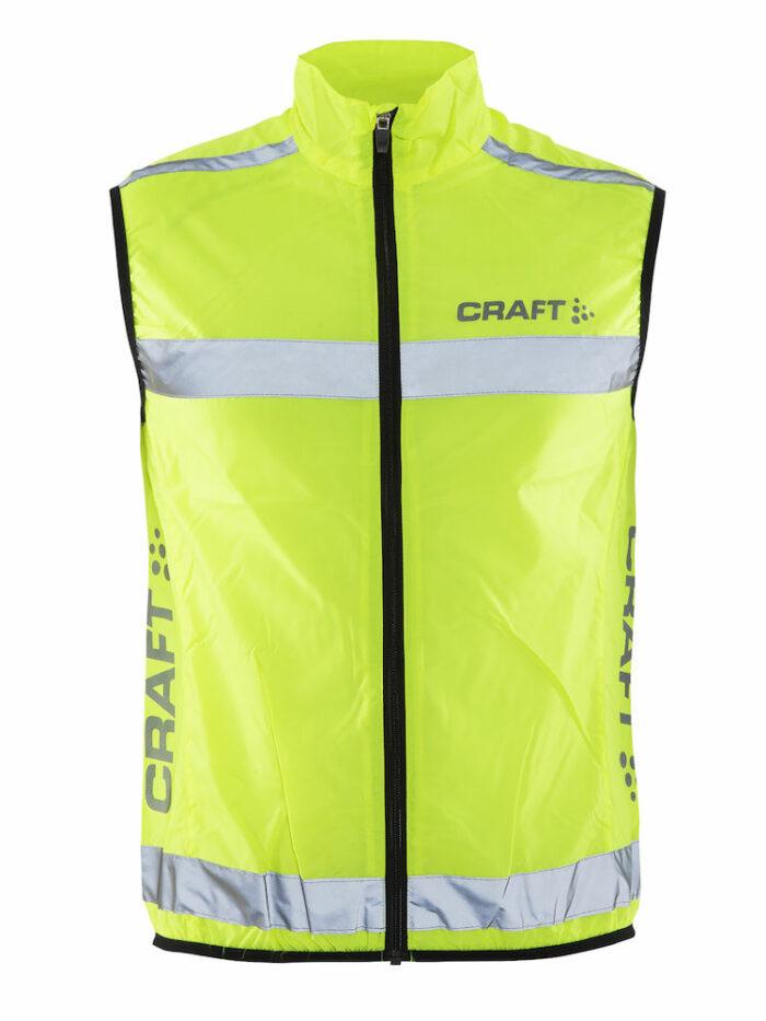 192480_1850_Visibility_Vest_Homme, femme, unisexe, Veste reflective avec une visibilité à 360° (Approuvée CE) avec du mesh au dos pour une excellente ventilation, Craft, 109 t-shirts