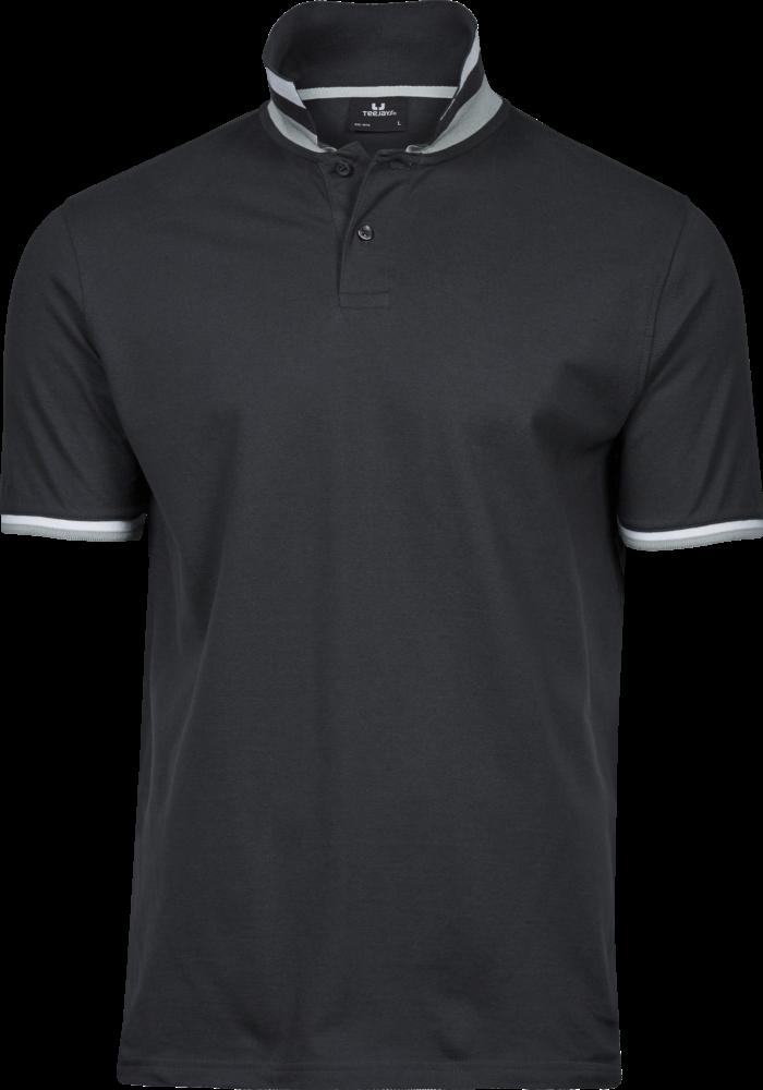 1402_Polo_Club Polo, prérétréci -bande de propreté -patte de boutonnage soignée -bandes contrastées au col et manches -surpiqûres aux épaules, emmanchures et base -lavable à 40°, Tee Jays, 109 T-shirts