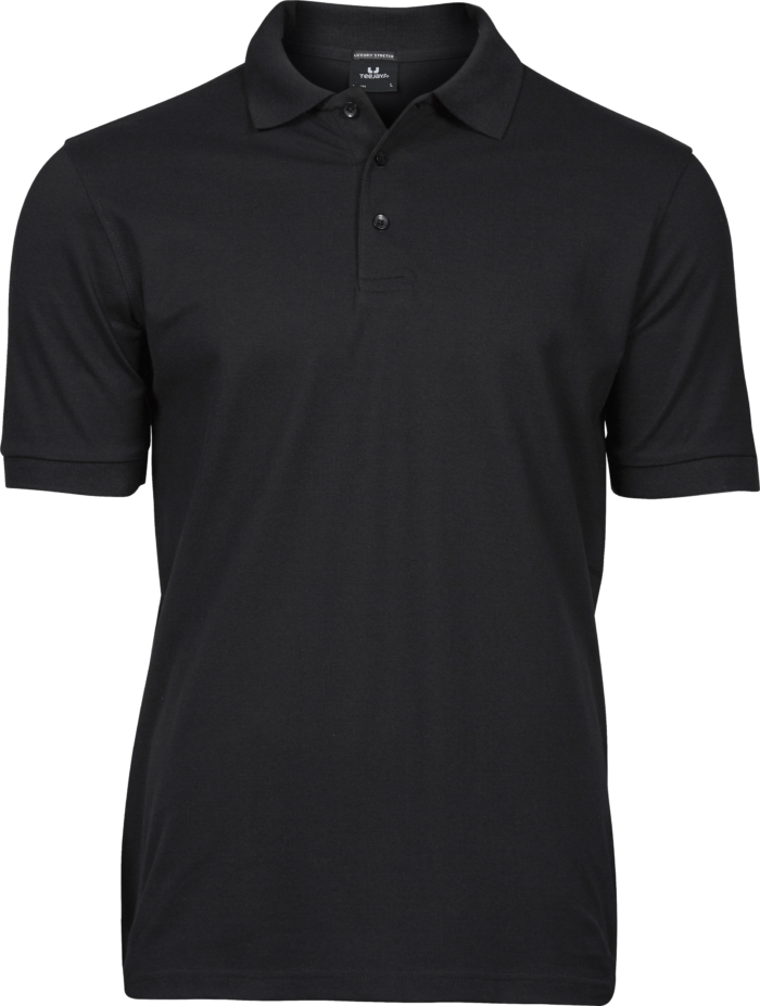 1405_Luxury_Stretch_Polo, mini piqué -prérétréci -col plat en lycra -bande de propreté -patte de boutonnage soignée -coupe ajustée, Tee Jays, Homme, 109 t-shirts