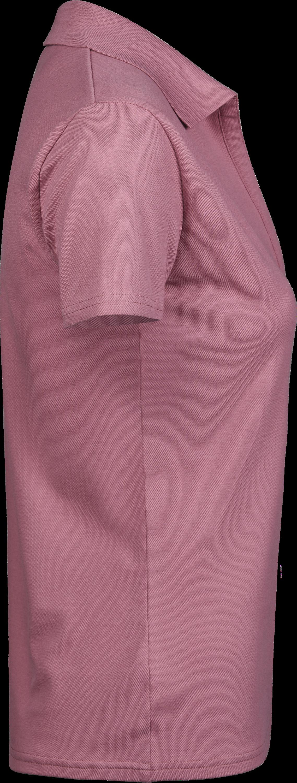 1409_Luxury V-Neck Polo - Mini piqué -Col en V -Col plat en élasthanne -Bande de propreté -Pré rétréci -Coupe ajustée, Femme, Tee Jays, 109 t-shirts