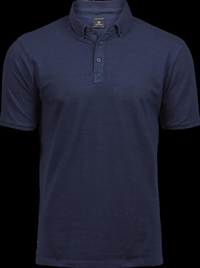 1410_Fashion Luxury Strecht Polo, Homme, Mini Piqué -Double pré-rétréci -Col en tricot plat rayé avec élasthanne -Bande de propreté -Patte de boutonage soignée -Bords des manches rayés, Tee Jays, 109 t-shirts
