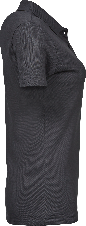 145_Luxury_Stretch_Polo, mini piqué -prérétréci -col plat en lycra -bande de propreté -patte de boutonnage soignée -coupe ajustée, Tee Jays, Femme, 109 t-shirts
