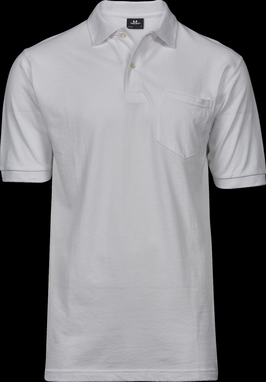 2400_Pocket Polo, Homme, Prérétréci deux fois -lavé aux enzymes -Col de même matériau et patte de boutonnage étroite avec logo en boutons anthracite perlés -Renforts d épaules -Coupe ajustée, Tee Jays, 109 T-shirts