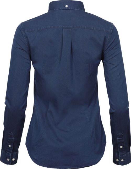 4003_Femme, Casual Taille Shirt, vêtement blanchi -col boutonné -col et poignets incorporés -empiècement au dos avec pli creux -boucle de suspension intérieure -ourlet incurvé -coupe ajustée, Tee Jays, 109 t-shirts