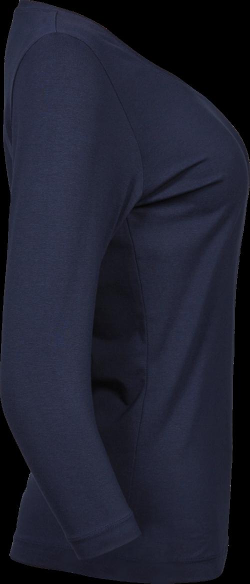 460_Double coton prérétréci -Lavage aux enzymes -Bande de propreté épaules -Double couture -Coupe ajustée - Manches 3/4, Tee Jays, 109 t-shirts