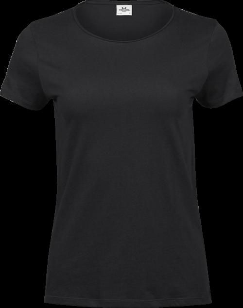 5061_100% coton ringspun peigné -Jersey simple -Prérétréci deux fois -Large encolure de même matériau avec tissu coupé à vif -Bande de propreté d'épaule à épaule -Modèle décontracté - Tee Jays - 109 T-shirts