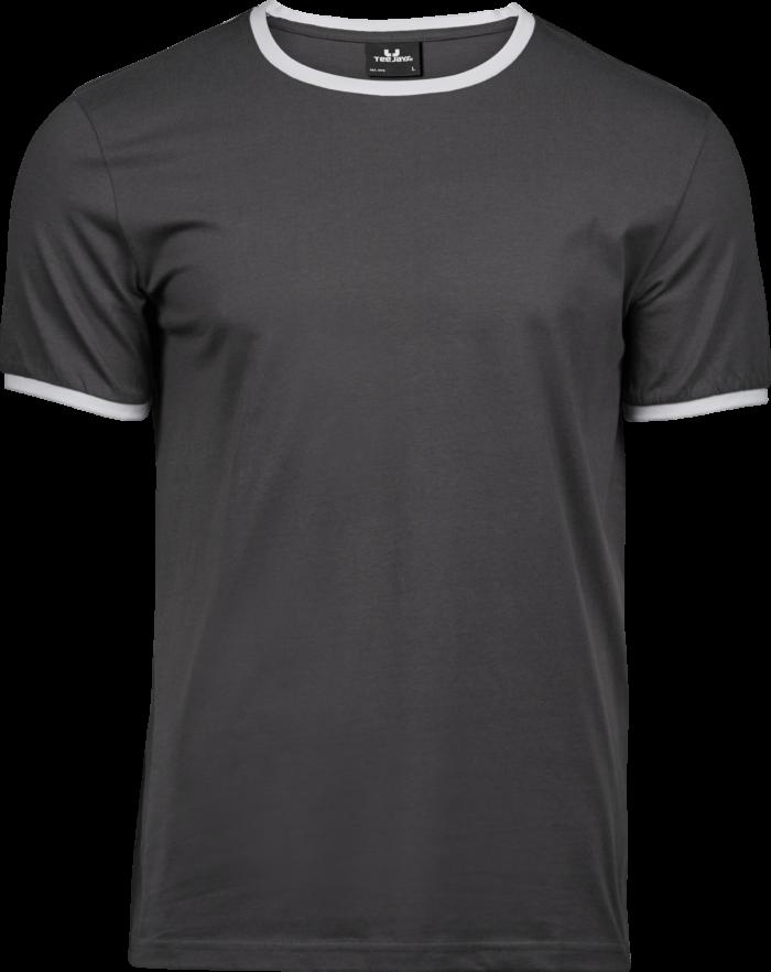 5070_Melange couleurs: 50% coton, 50% polyester - Coton à longues fibres -Double pré-rétréci -Bande de propreté d'épaule à l'épaule -Côtes sur la manche et col en couleur contrastée -Coupe ajustée, Tee Jays, 109 t-shirts