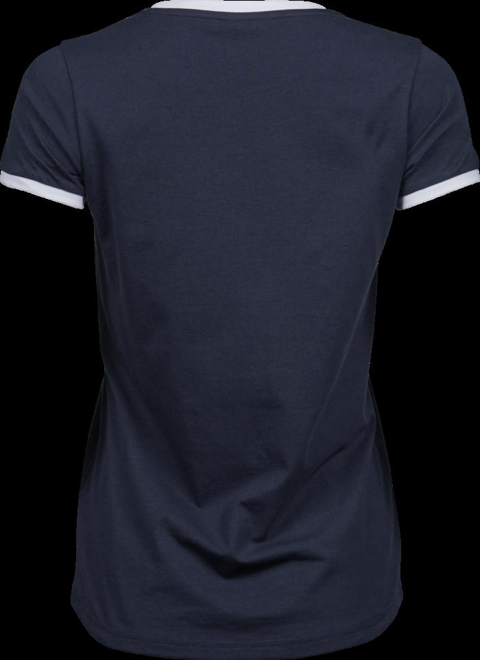 5071_Melange couleurs: 50% coton, 50% polyester - Coton à longues fibres -Double pré-rétréci -Bande de propreté d'épaule à l'épaule -Côtes sur la manche et col en couleur contrastée -Coupe ajustée, Tee Jays, 109 t-shirts