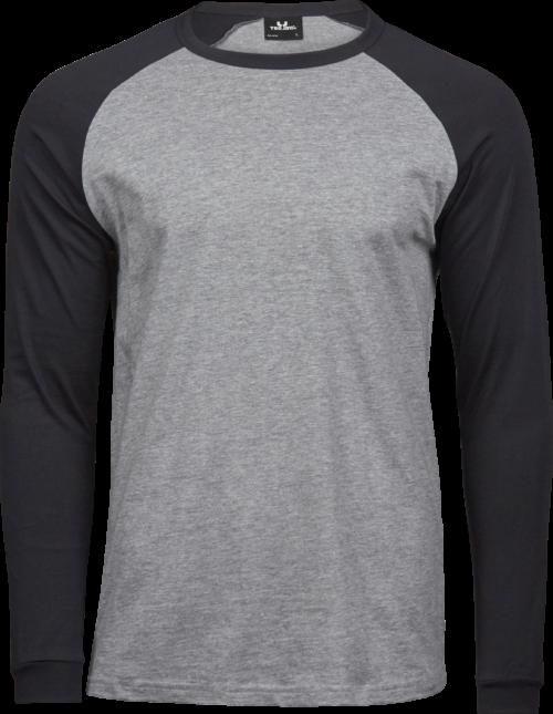 5072_Coton à longues fibres -Double pré-rétréci -Col en tissu élastique -Bande de propreté d'épaule à l'épaule -Manches raglan, Tee Jays, 109 t-shirts