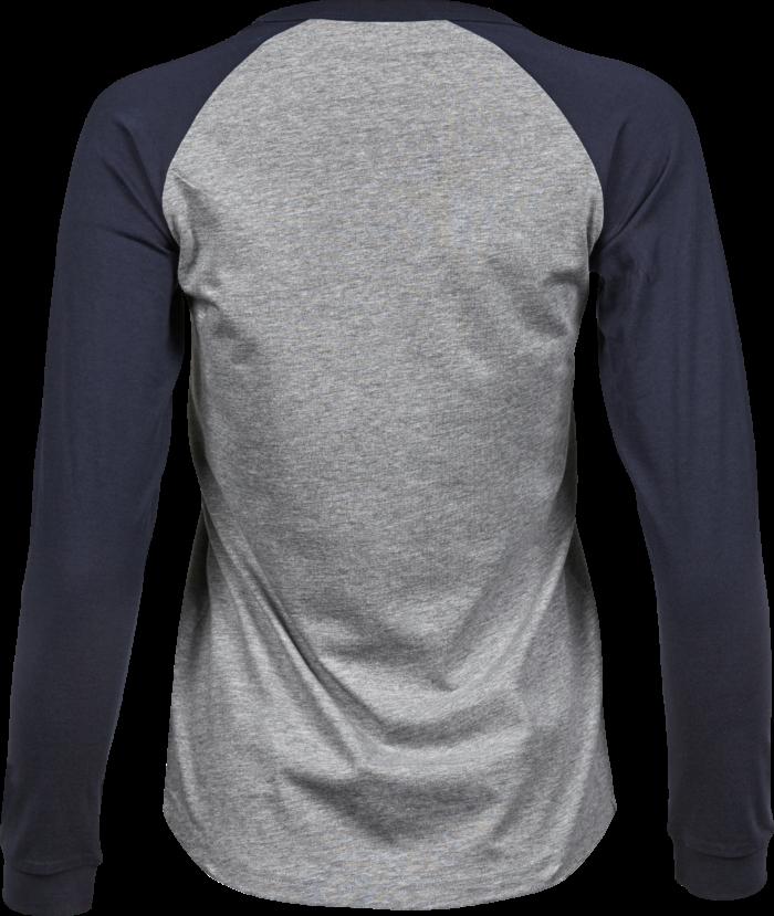 5073_Coton à longues fibres -Double pré-rétréci -Col en tissu élastique -Bande de propreté d'épaule à l'épaule -Manches raglan, Tee Jays, 109 t-shirts