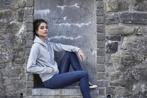 5431_Hooded_sweatshirt - Homme, Femme, Unisexe, coton égyptien à longues fibres -surface douce -couleurs éclatantes grâce à une double teinture -intérieur brossé -bord-côte en lycra pour un meilleur maintien -surpiqûres, Tee Jays, 109 t-shirts