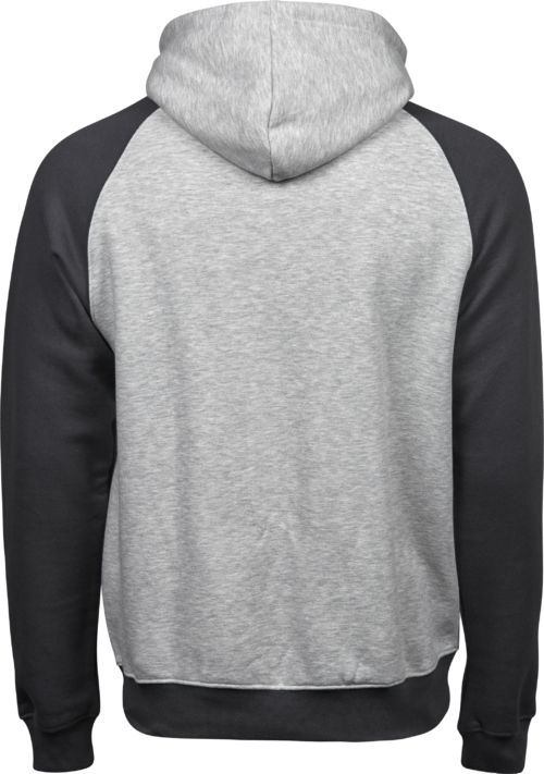 5432_Homme - Two-Tone Hooded Sweatshirt - Fibres longues en coton égyptien -Intérieur brossé -Bord côte avec élasthanne -Grande poche à l avant -Double couture, Tee Jays, 109 T-shirts