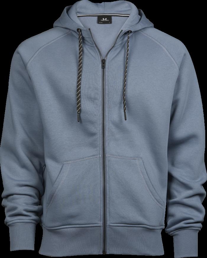 5435_Homme - Fashion Full Zip Hood, coton égyptien à longues fibres -surface douce -couleurs éclatantes grâce à une double teinture -intérieur brossé -capuche doublée -fermeture à glissière pleine longueur -poche appliquée -bord côte en lycra pour un meilleur maintien -surpiqûres, Tee Jays, 109 t-shirts