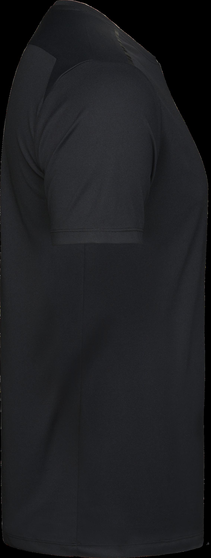 7010_Luxury Sport Tee, Homme, Tissu doux, respirant et léger -Évacuation de l'humidité, matériau à séchage rapide -Bande de propreté noir -Sceau imprimé sur les épaules -Coutures latérales -Couture double, Tee Jays, 109 t-shirts
