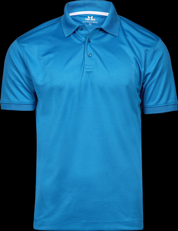 7100 - Performance -Polo - piqué -respirant -évacue la sueur -col en piqué -patte de boutonnage -coupe cintrée, Tee Jays, 109 t-shirts