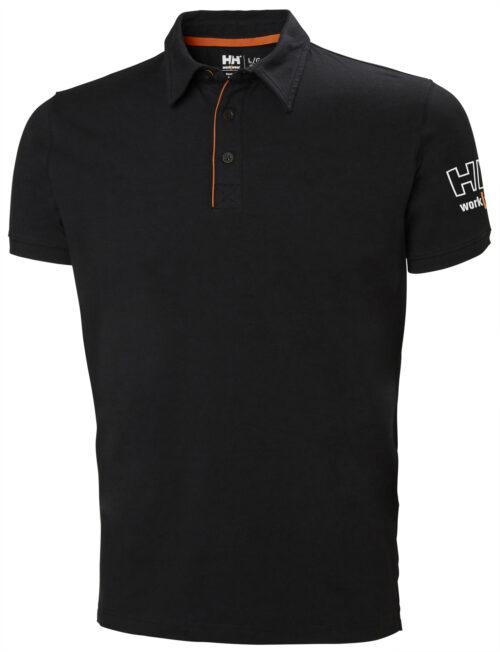 79241_Kensington_polo - C'est la rencontre du confort et du style: le polo Kensington est un polo en jersey léger aux détails soignés, grâce à lui vous vous démarquerez des autres. Patte de boutonnage sur le devant -Logo HH Workwear en relief -Ouverture fendue -Bouton supplémentaire inclus, Helly Hansen, 109 t-shirts