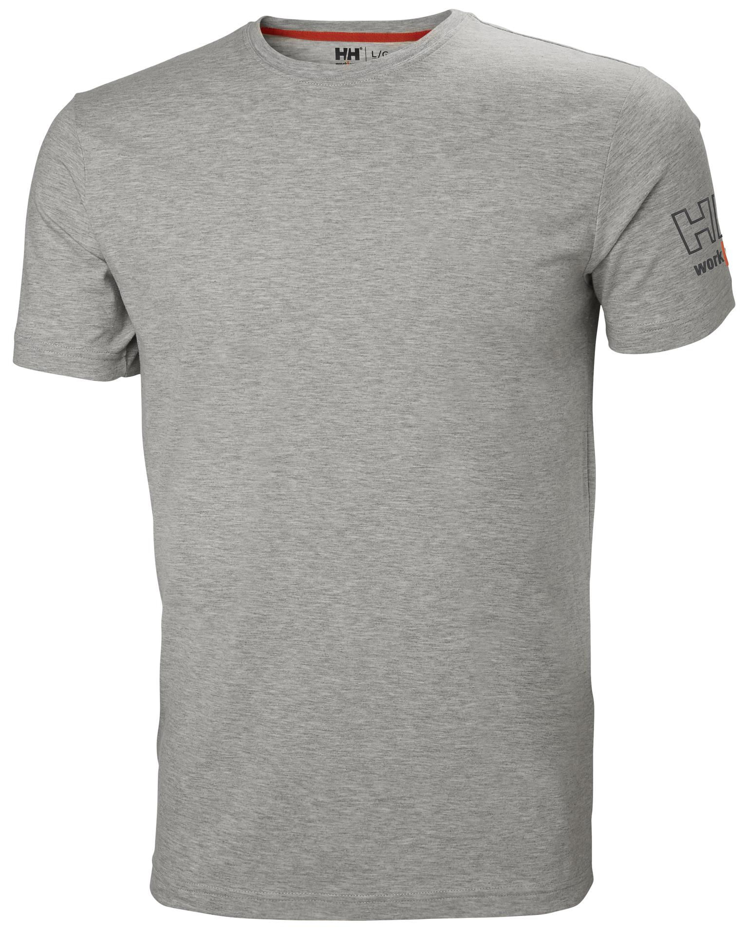 79246_Kensington t-shirt, Avec le confort pour mot d'ordre, la collection Kensington est inégalable. L'association du coton et de l'élasthane vous assure un confort tout au long de votre journée de travail, quoi qu'il se passe - Logo HH Workwear en relief, Helly Hansen, 109 t-shirts