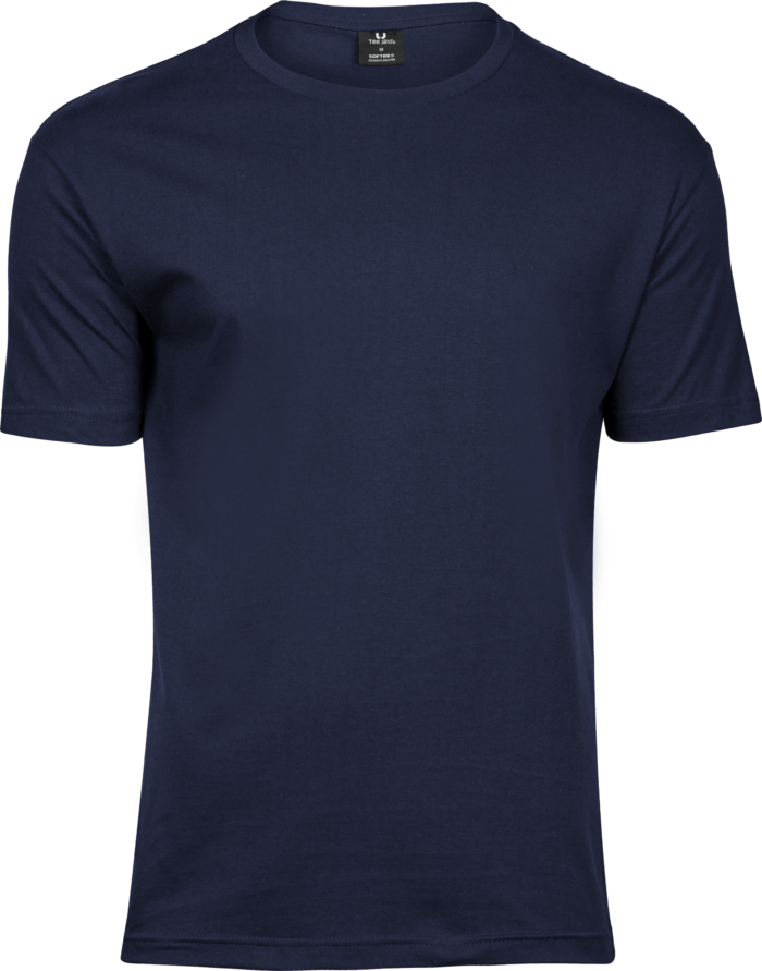 8005_T-shirt col rond pour Homme - Coton prérétréci 2 fois - Bande de propreté - Modèle moulant, Tee Jays, 109 t-shirts