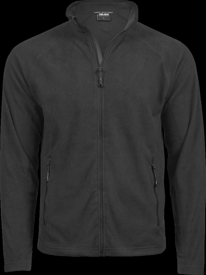 9160_Homme_Active_Fleece - Micro fleece anti-peluche -manches raglan -fermeture à glissière pleine longueur -rabat tempête coupé au laser -2 poches de côté avec fermeture à glissière -coupe ajustée, Tee Jays, 109 T-shirts
