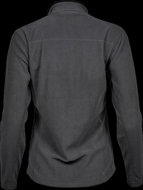 9170_Femme_Active_Fleece - Micro fleece anti-peluche -manches raglan -fermeture à glissière pleine longueur -rabat tempête coupé au laser -2 poches de côté avec fermeture à glissière -coupe ajustée, Tee Jays, 109 T-shirts