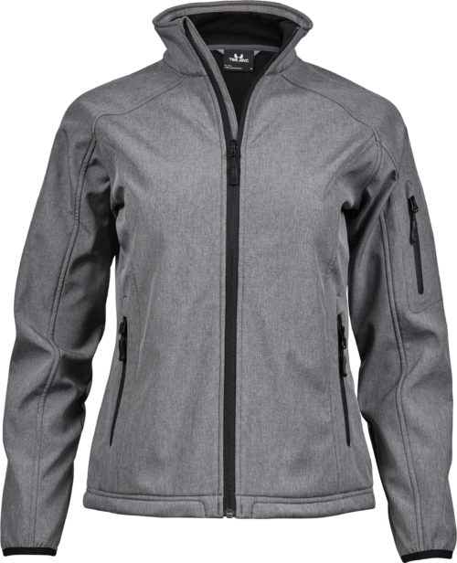 9511_Femme_LightWeight_Performance_Softshell, Membrane TPU -Zip complet -Poche imperméable sur la manche -2 grandes poches avant avec zip -Poignets élastiques -Ourlet réglable -Coupe légèrement cintrée, Tee Jays, 109 t-shirts