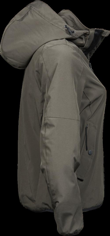 9605_Femme_Urban_Adventure_Jacket_Matériau double couche -Déperlant -Respirant -Capuche détachable avec cordon de réglage -fermeture éclair avec protège-menton -Poche intérieure avec bouton pression -Poches avant à double ouverture (fermeture éclair et bouton pression) -Ourlet et manchettes élastiques, Tee Jays, 109 T-shirts