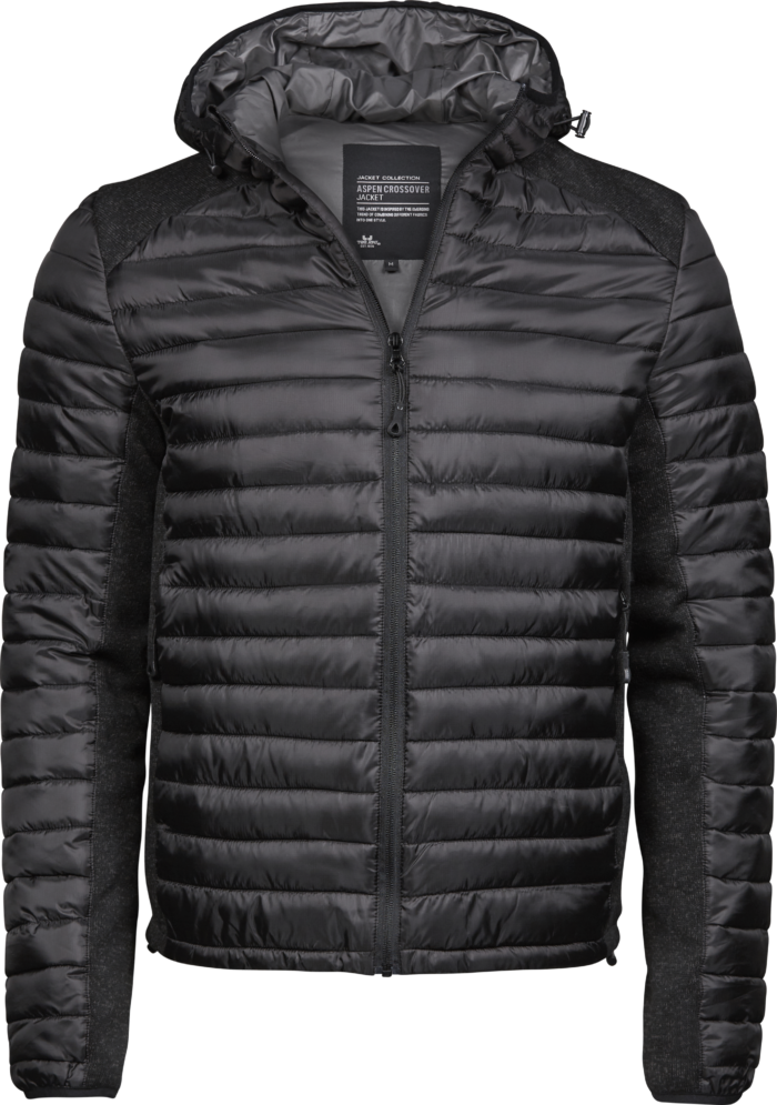 9610_Homme_Hooded_Outdoor_Crossover_Extérieur: 100% polyester (Ribstop 400T / tricoté) -Rembourrage et doublure: 100% polyester -Hydrofuge -Capuche réglable -Fermetures à glissière de qualité inversées -2 grandes poches à l'avant, poche intérieure -Poignets élastiqués -Ourlet réglable -Préparé pour la broderie, Tee Jays, 109 t-shirts
