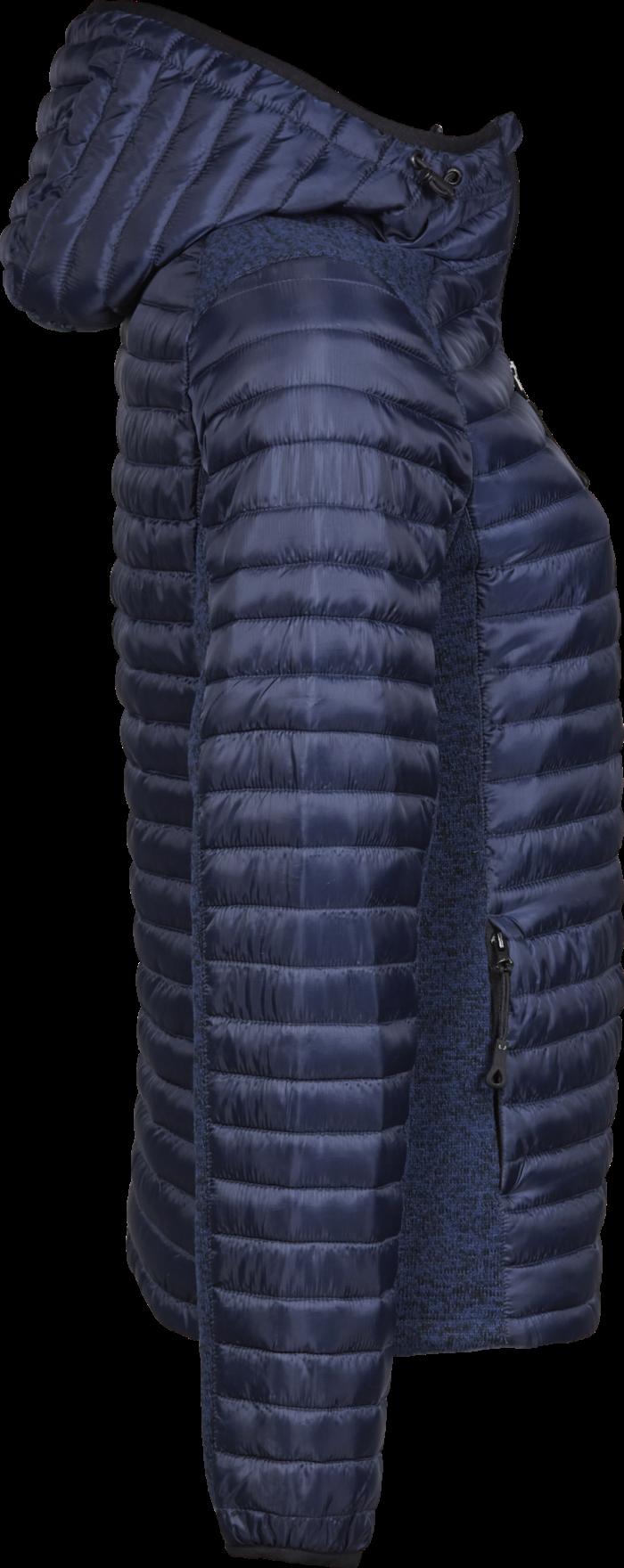 9611_Femme_Hooded_Outdoor_Crossover_Extérieur: 100% polyester (Ribstop 400T / tricoté) -Rembourrage et doublure: 100% polyester -Hydrofuge -Capuche réglable -Fermetures à glissière de qualité inversées -2 grandes poches à l'avant, poche intérieure -Poignets élastiqués -Ourlet réglable -Préparé pour la broderie, Tee Jays, 109 t-shirts