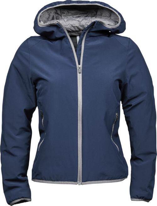 9651_Femme_Competition_Jacket_Matériau double couche -Déperlant -Respirant -Capuche intégrée -Fermeture éclair avec protège-menton -Poches intérieures et extérieures avec fermeture éclair -Ourlet et manchettes élastiques, Tee Jays, 109 T-shirts