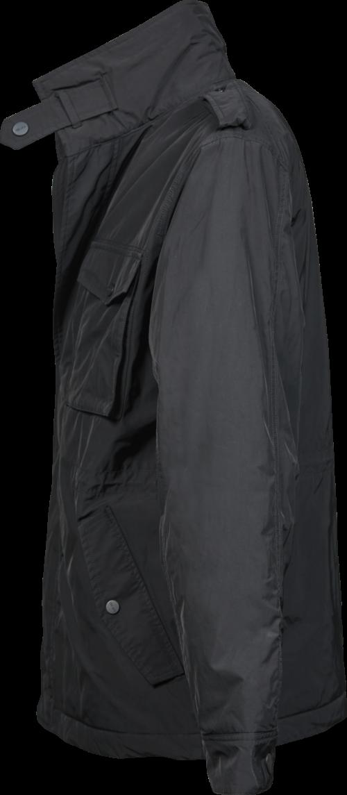 9670_Urban_City_Jacket_Col intérieur amovible -Fermeture éclair -Détails décoratifs sur les épaules -Poches de poitrine avec rabat et bouton pression -Poche intérieure -Poches avant avec rabat et bouton pression -Réglage intérieur à la taille -Manches ajustées avec manchettes réglables, Tee Jays, 109 t-shirts